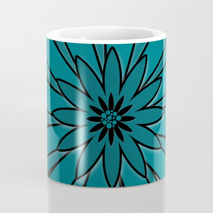 Blue flower . Coffee Mug