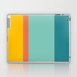 Retro Hot and Cold #retro #colors Laptop & iPad Skin