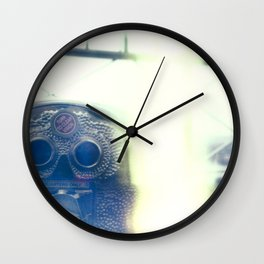 An Almost View Wall Clock