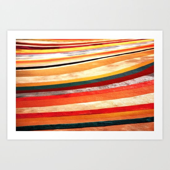 Slow Roll - Vivido Series Art Print