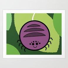 Cutesy Crawlies — Spider Art Print