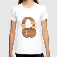 headphones T-shirts featuring Headphones by MelRae