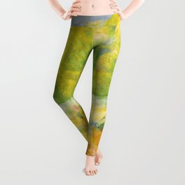 "Franz Marc ""Large Landscape I (Landschaft I)"" Leggings"