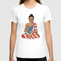 obama T-shirts featuring Buddha Obama by Jack Coltman