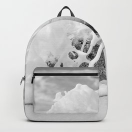 The Shore (Black and White) Backpack
