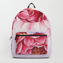 Flowers bouquet 63 Backpack