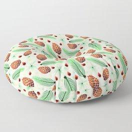 Pines and Pinecones Floor Pillow