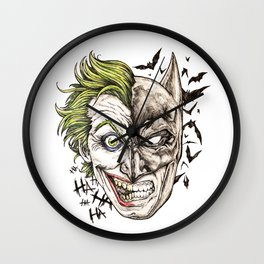 EvilGood Wall Clock