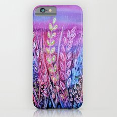 Pink Grasses Slim Case iPhone 6s