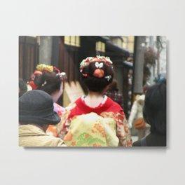 Geishas Metal Print