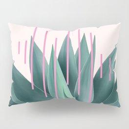 Agave geometrics II - pink Pillow Sham