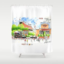 ESPN Game Day 2014 Shower Curtain