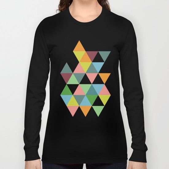 Abstract #585 Long Sleeve T-shirt
