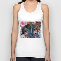 return Tank Tops featuring The Return by Jen Hynds