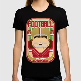 American Football Red and Gold - Hail-Mary Blitzsacker - June version T-shirt