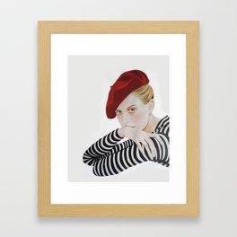 S T R I P E Framed Art Print