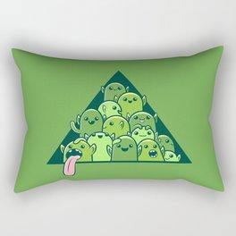 Itty-bitty Goblin Hoard Rectangular Pillow