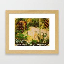 Hume, NY Framed Art Print