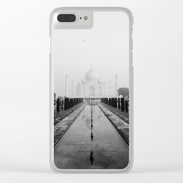 Taj Mahal Clear iPhone Case