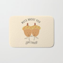 nuts about you Bath Mat