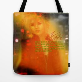 Fire Passion Poetry Tote Bag