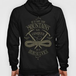 Hiking motivational quote Hoody