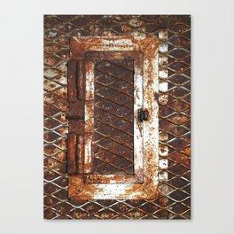 Rusted Door Canvas Print