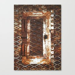 Rusted Door Canvas Print