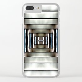Dangerous Contact Clear iPhone Case