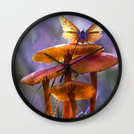 Woodland Fantasy Wall Clock