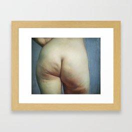 Study of Buttocks Framed Art Print