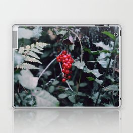 Wild berries in the forest Laptop & iPad Skin
