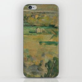 Mont Sainte-Victoire and the Viaduct of the Arc River Valley iPhone Skin