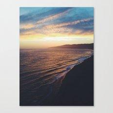 Point Dume Sunset Canvas Print