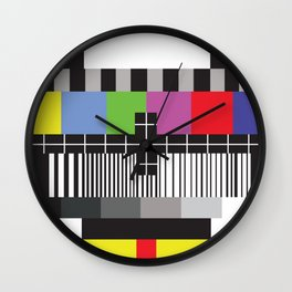 Without Watching TV Wall Clock