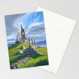 Hilltop Ruin Stationery Cards