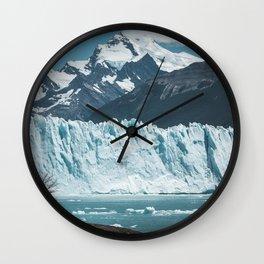 Perito Moreno Wall Clock