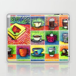 The Daily Coffee Poster Laptop & iPad Skin