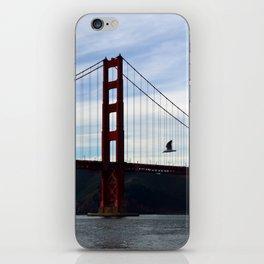 Golden Gate Bridge Panorama iPhone Skin