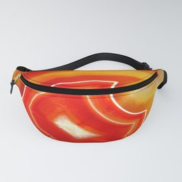 Orange Agate Fanny Pack