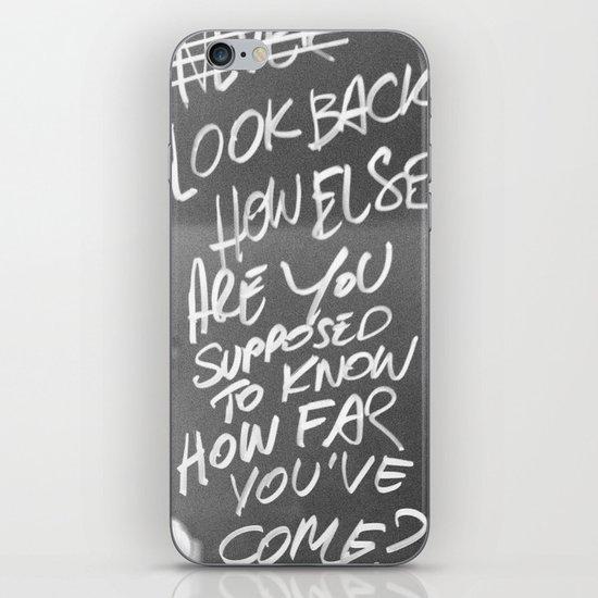 LookBack iPhone & iPod Skin