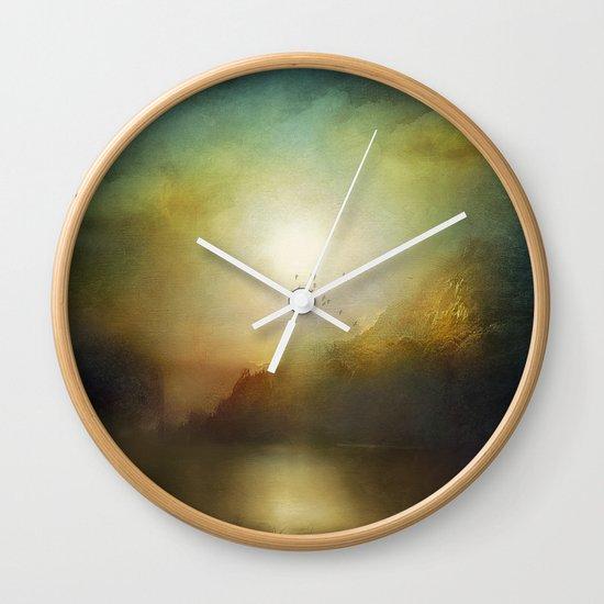 Poesia Wall Clock