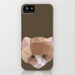 GEOMETRIC CAT iPhone Case