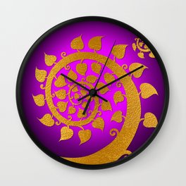 Bodhi Tree0606 Wall Clock