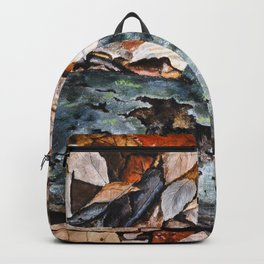 Mourning Cloak Butterfly of the Woods by Teresa Thompson Backpack
