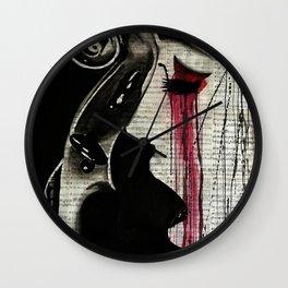 A woman named Cello Wall Clock