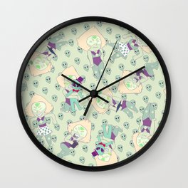 Peridot Fever Wall Clock