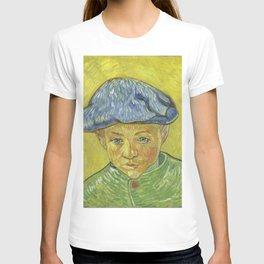 Vincent Van Gogh - Portrait of Camille Roulin T-shirt