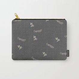 Capricorn Pattern Carry-All Pouch