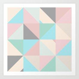 Geometric Pattern XVII Art Print